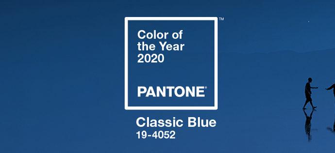 2020年のトレンドカラーは夕暮れの空のような「Classic Blue」が来る!